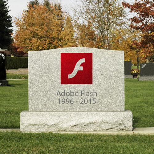 Adobe annuncia che cesserà di sviluppare flash player