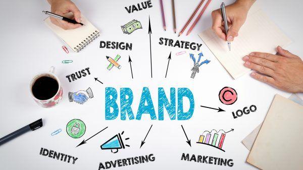 Visual identity di un brand