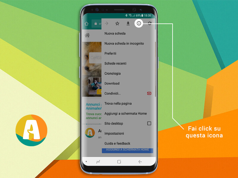 Come svuotare la cache Android Step1
