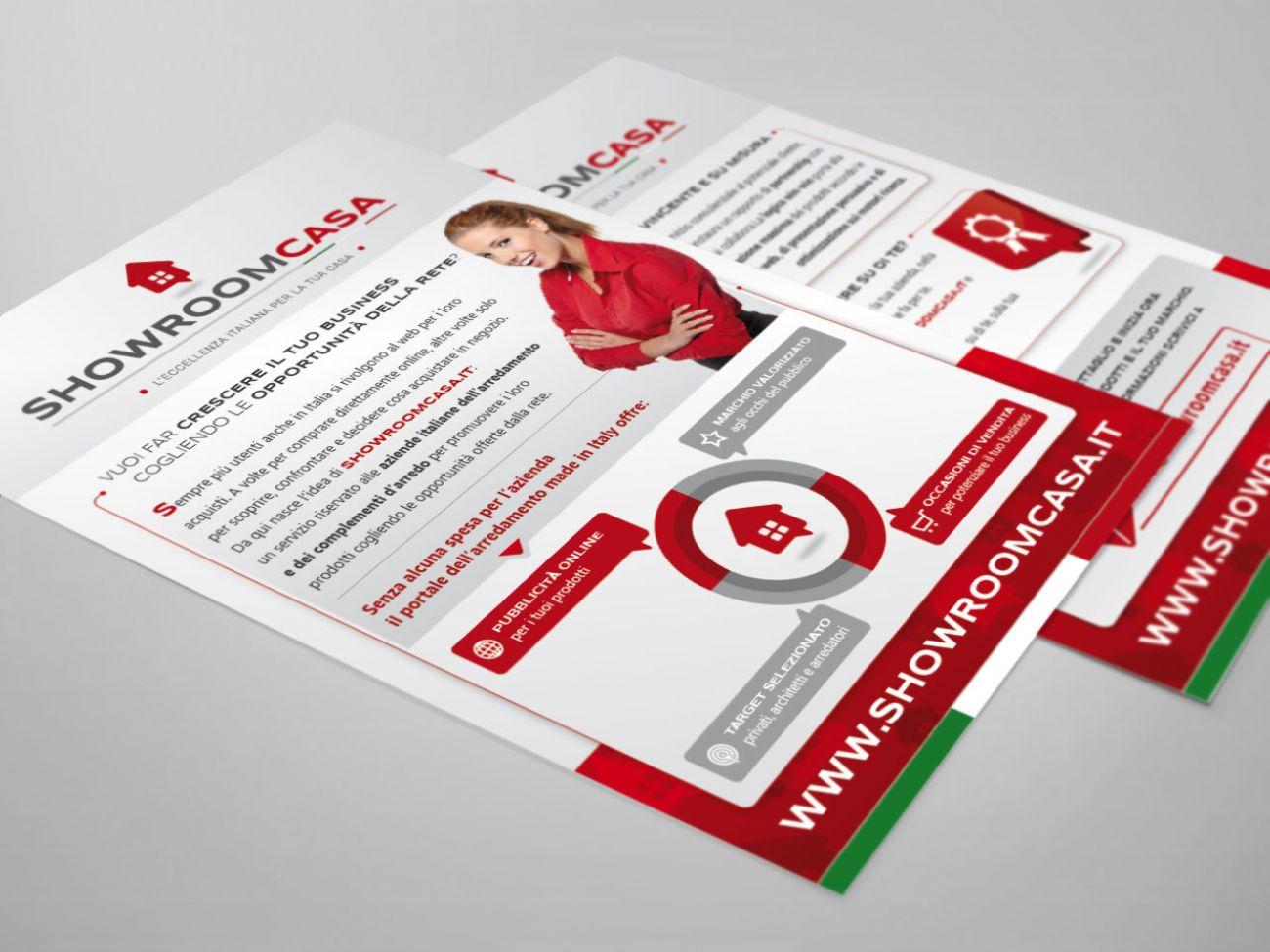 Brochure pubblicitaria