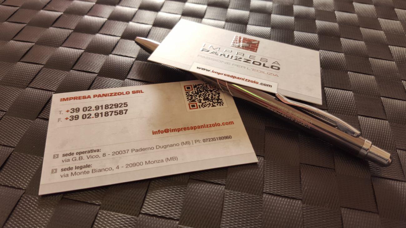 Design e Stampa Biglietti da visita