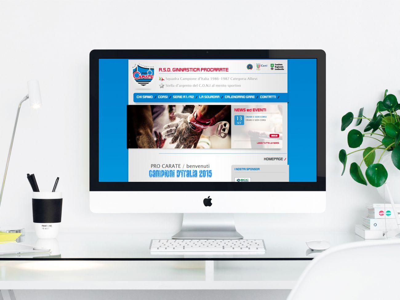 Sito web associazione sportiva