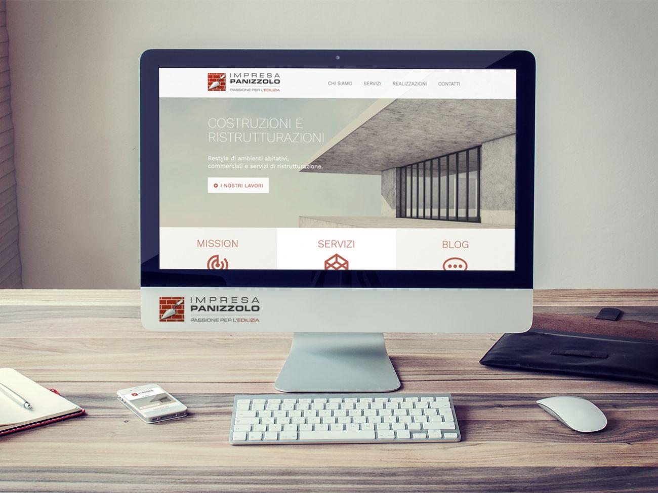 Realizzazione sito web per impresa