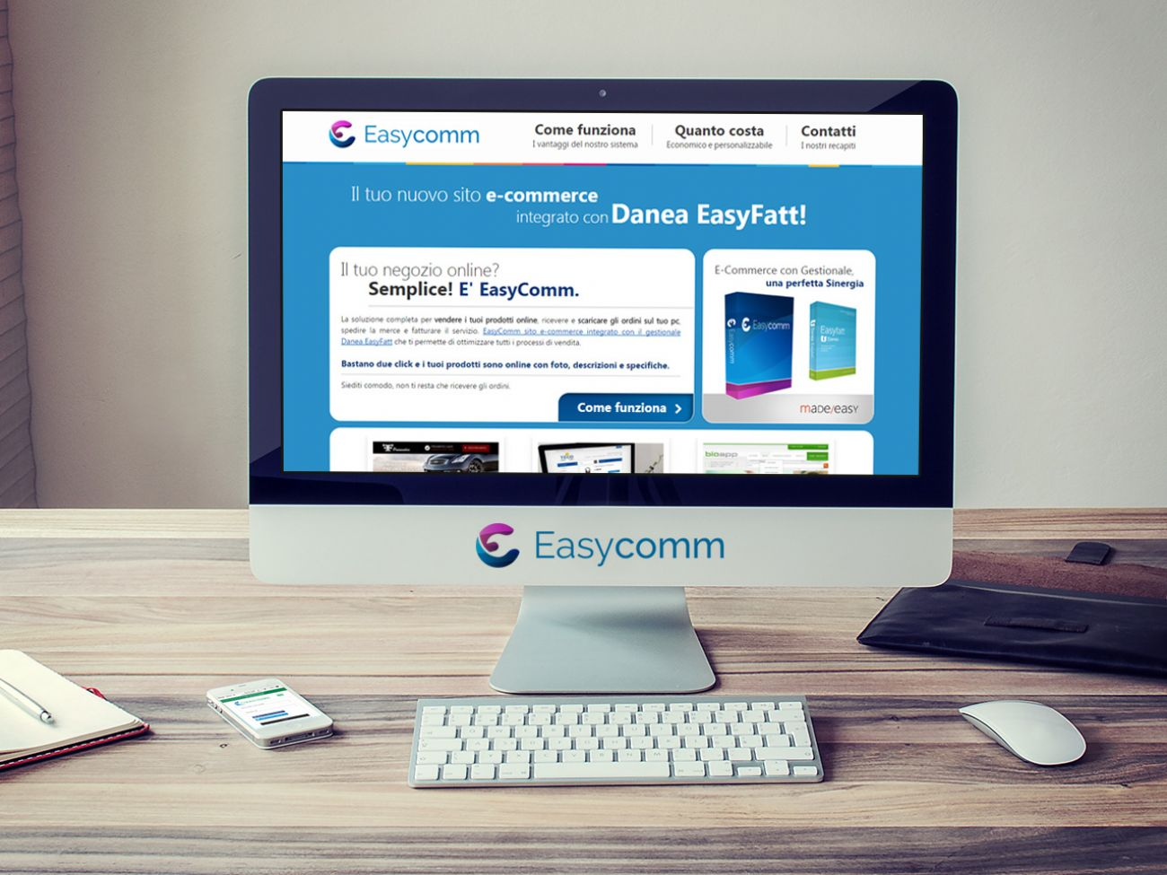 EasyComm e-commerce integrato EasyFatt