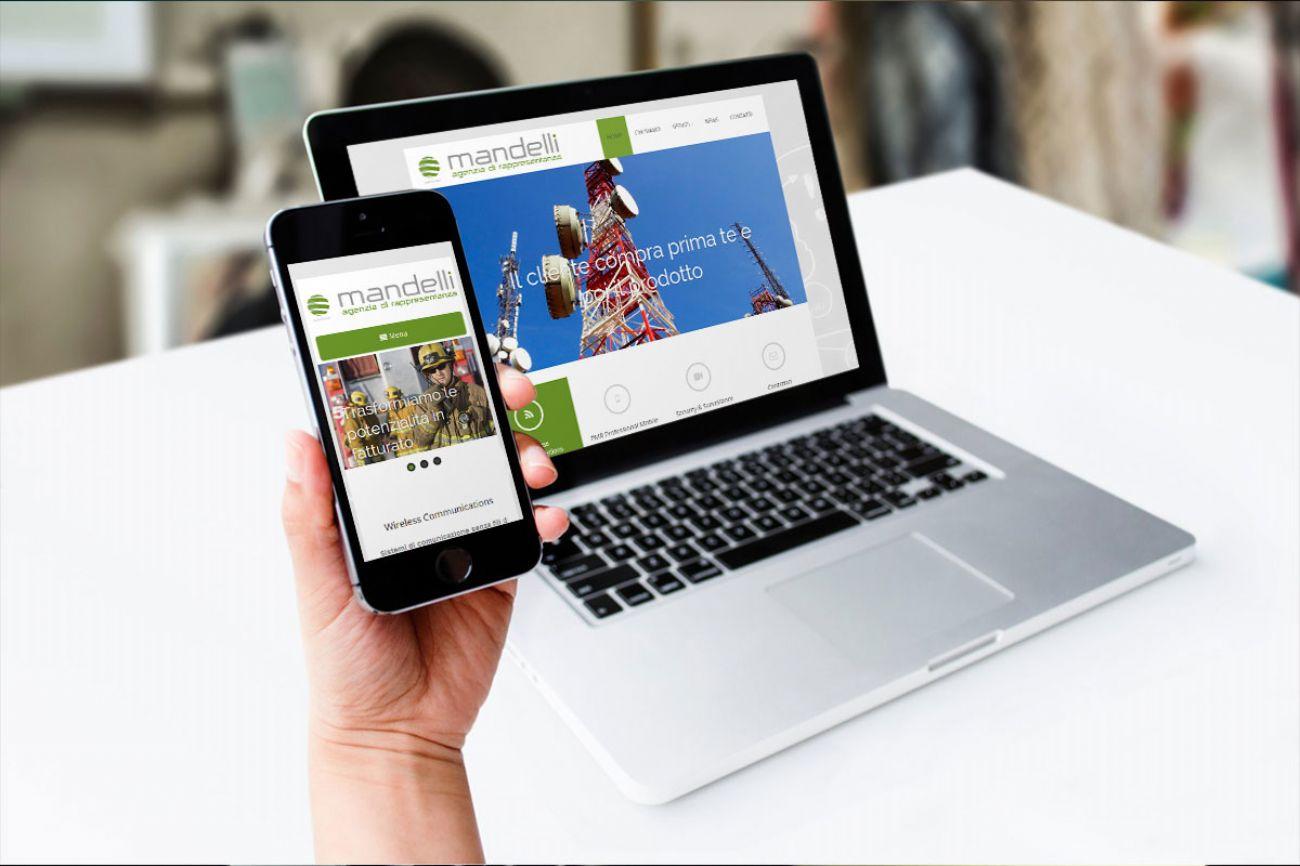 Sviluppo sito web amministrabile