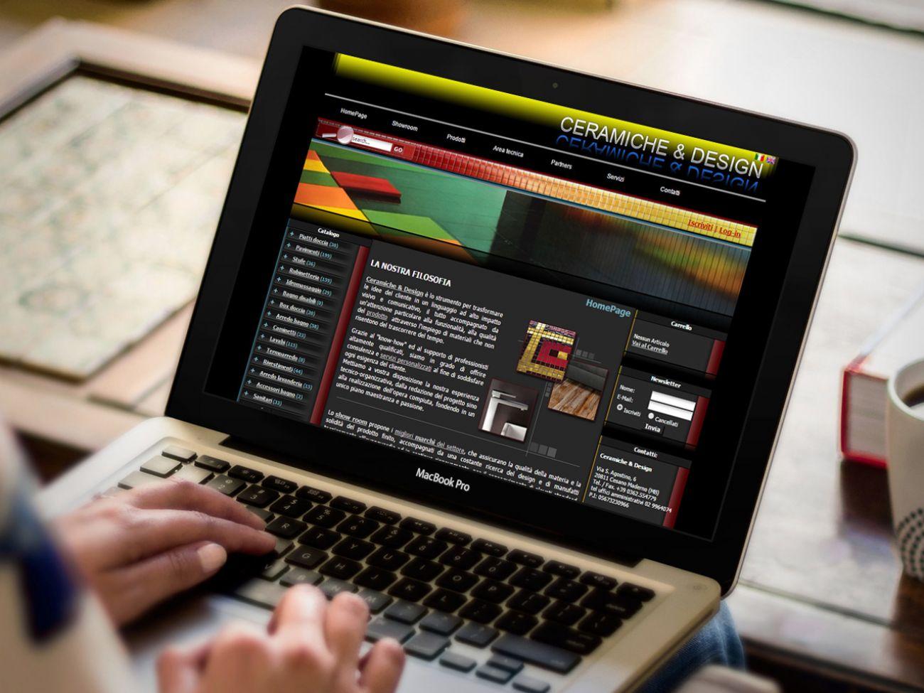 Sito catalogo online articoli bagno