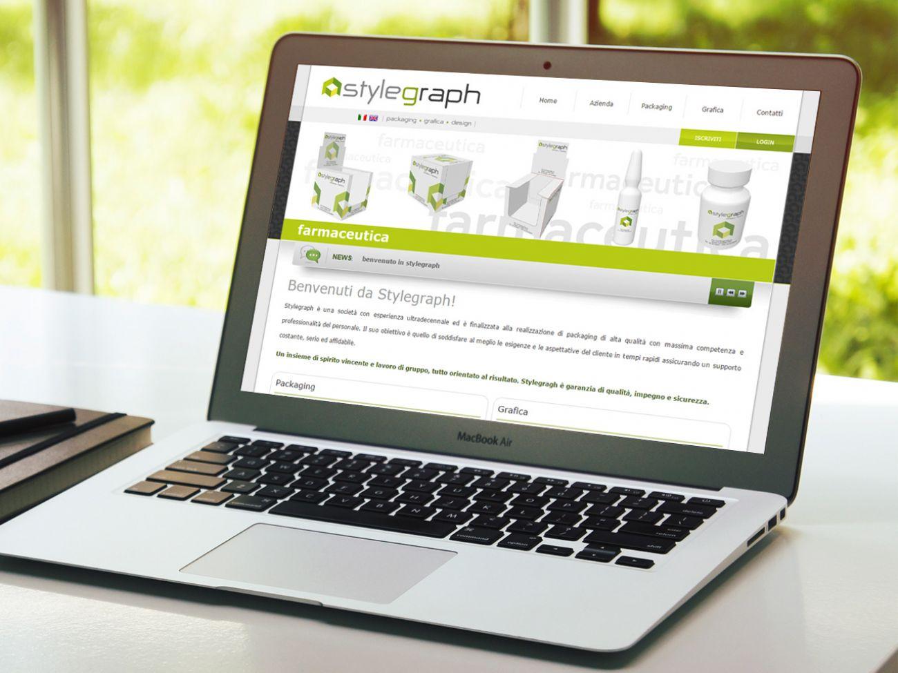 Sito web farmaceutico
