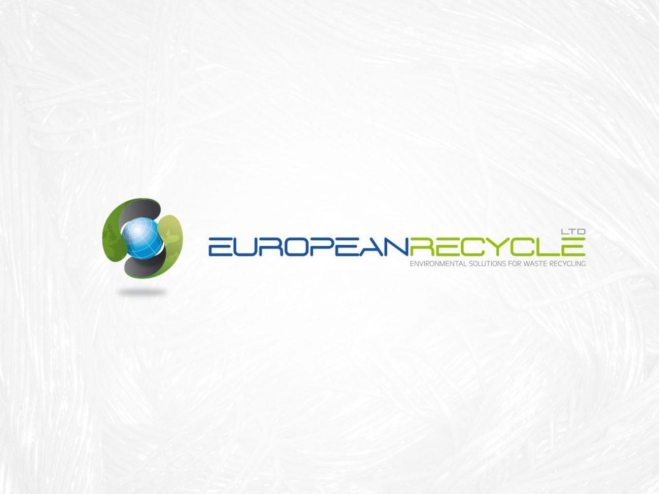 Logotipo società riciclo rifiuti