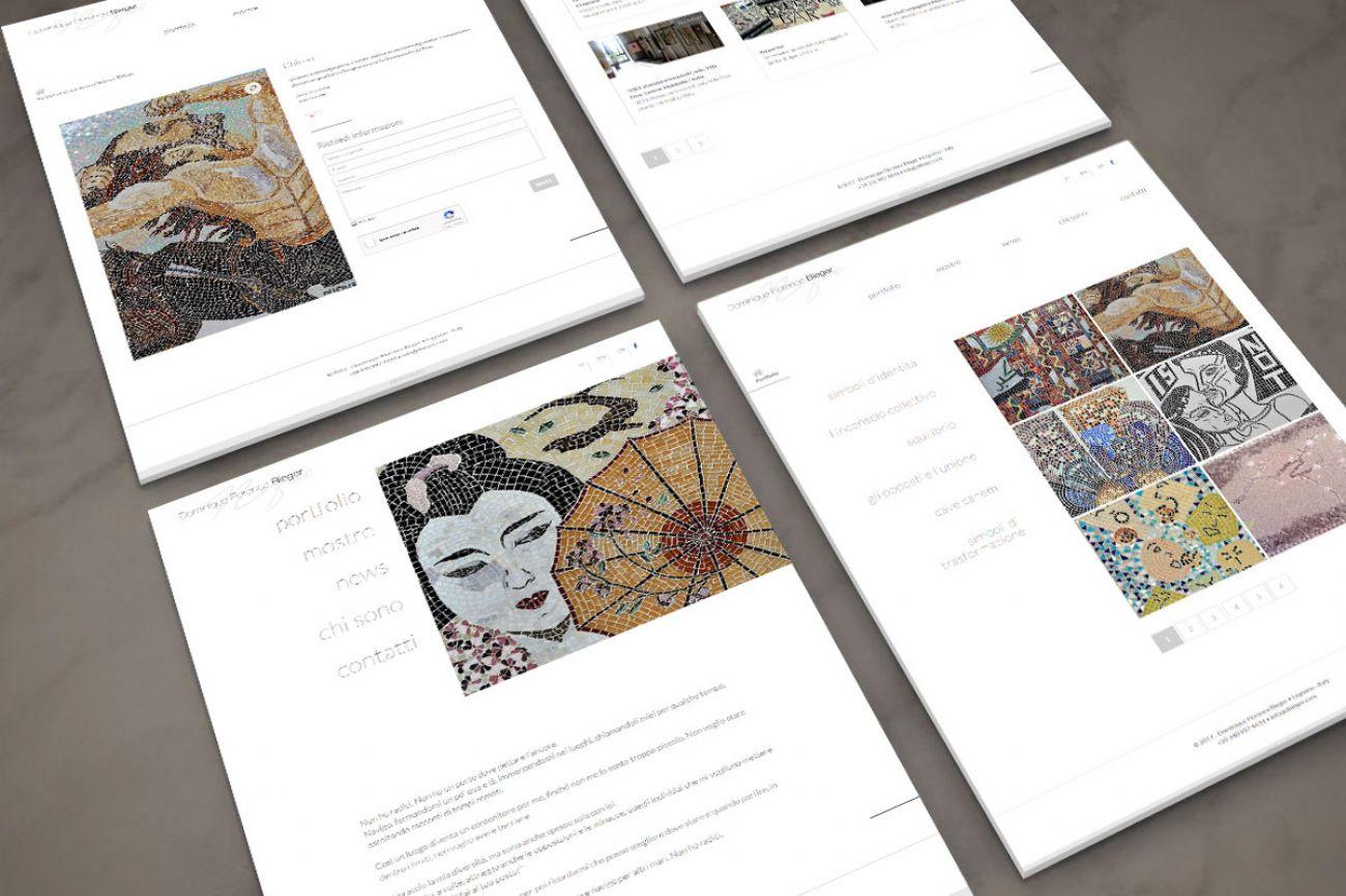 Sito web mosaicista