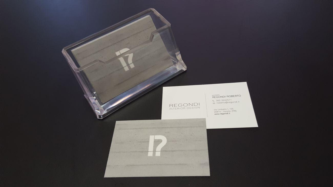 Biglietti da visita di design