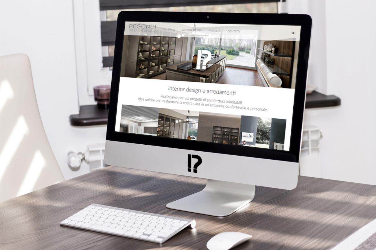 Sito web di design per regondi for Sito web di design di mobili