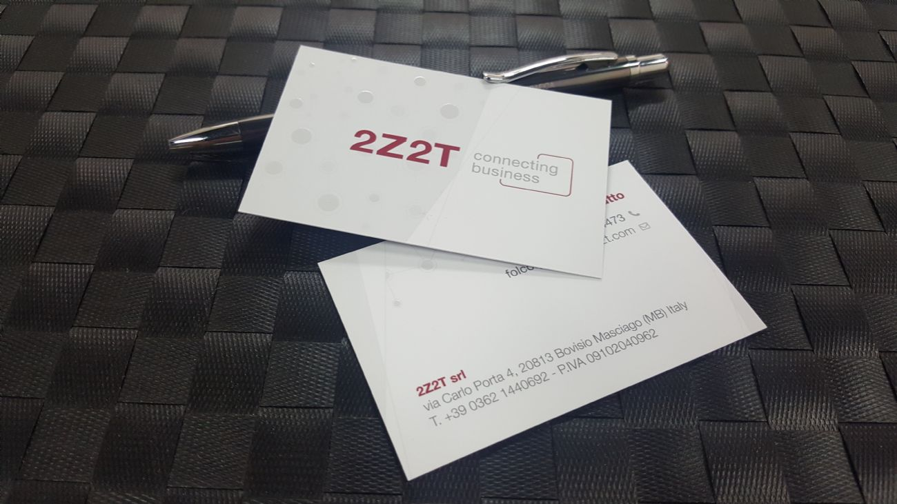 Biglietti da visita e carta intestata