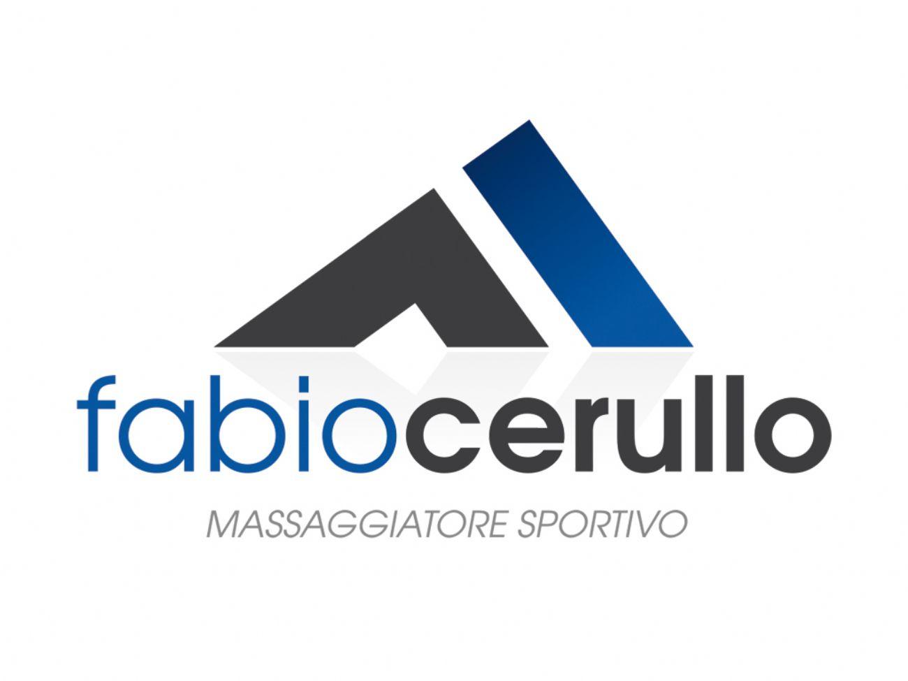 Logo massaggiatore sportivo