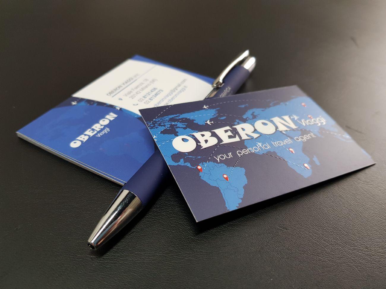 Businesscards uv refinished