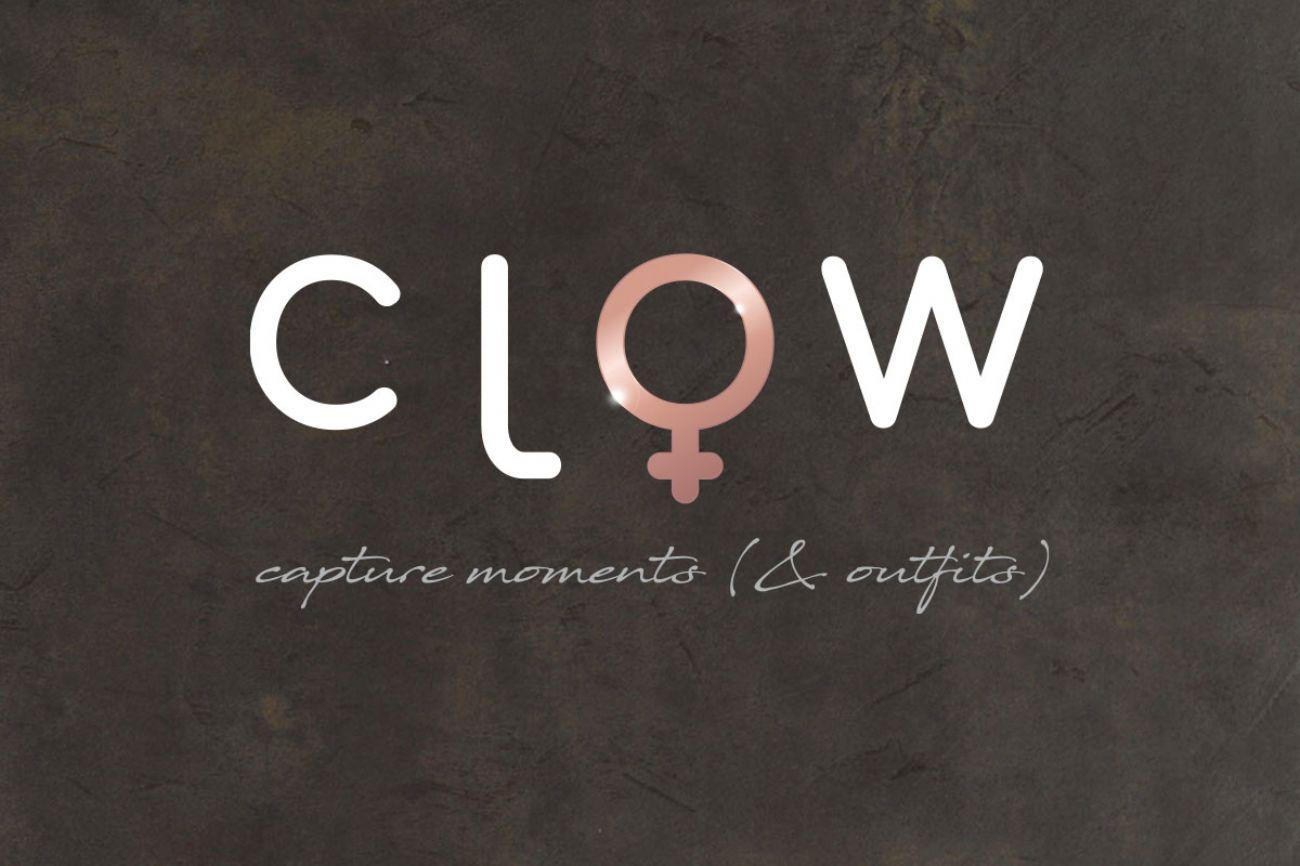 Logo negozio abbigliamento CLOW