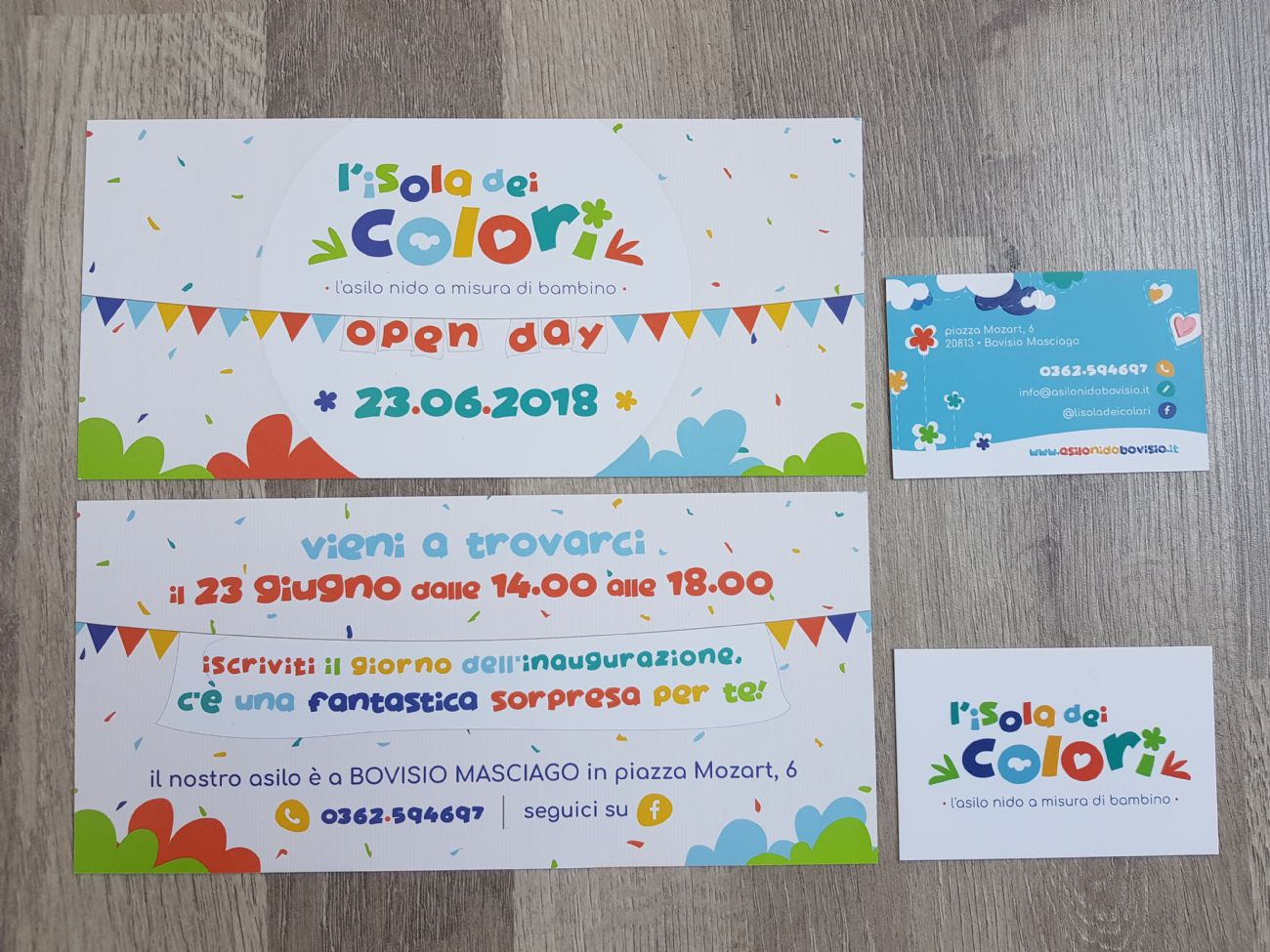 Invito open day Asilo nido Bovisio