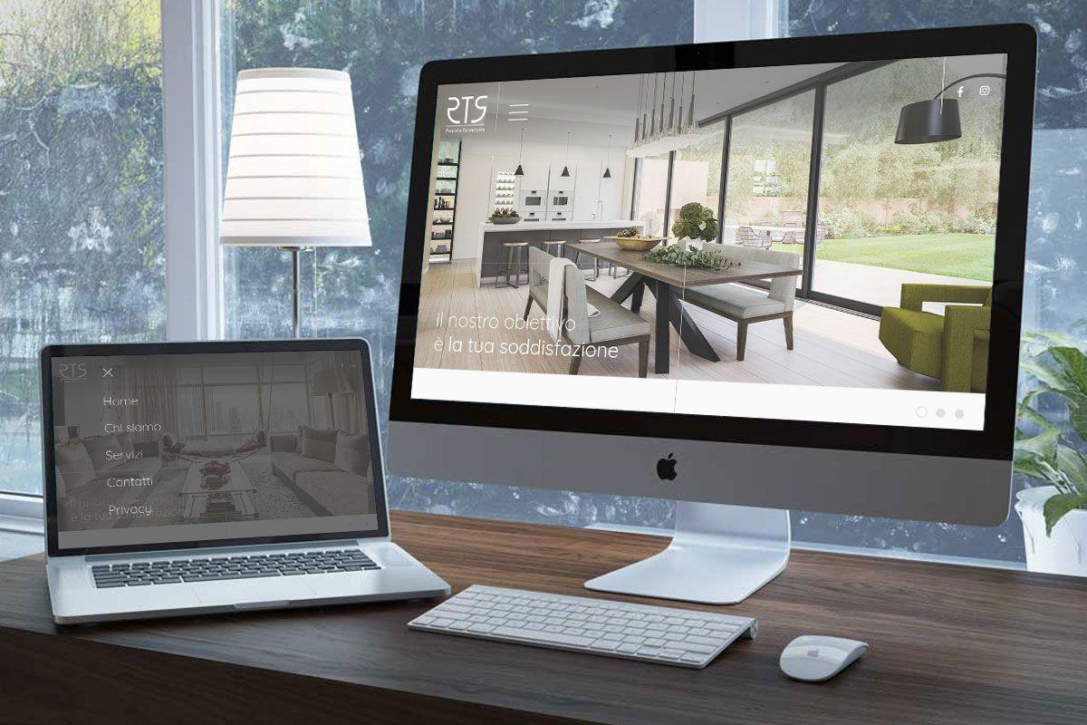 Sito web custom responsive