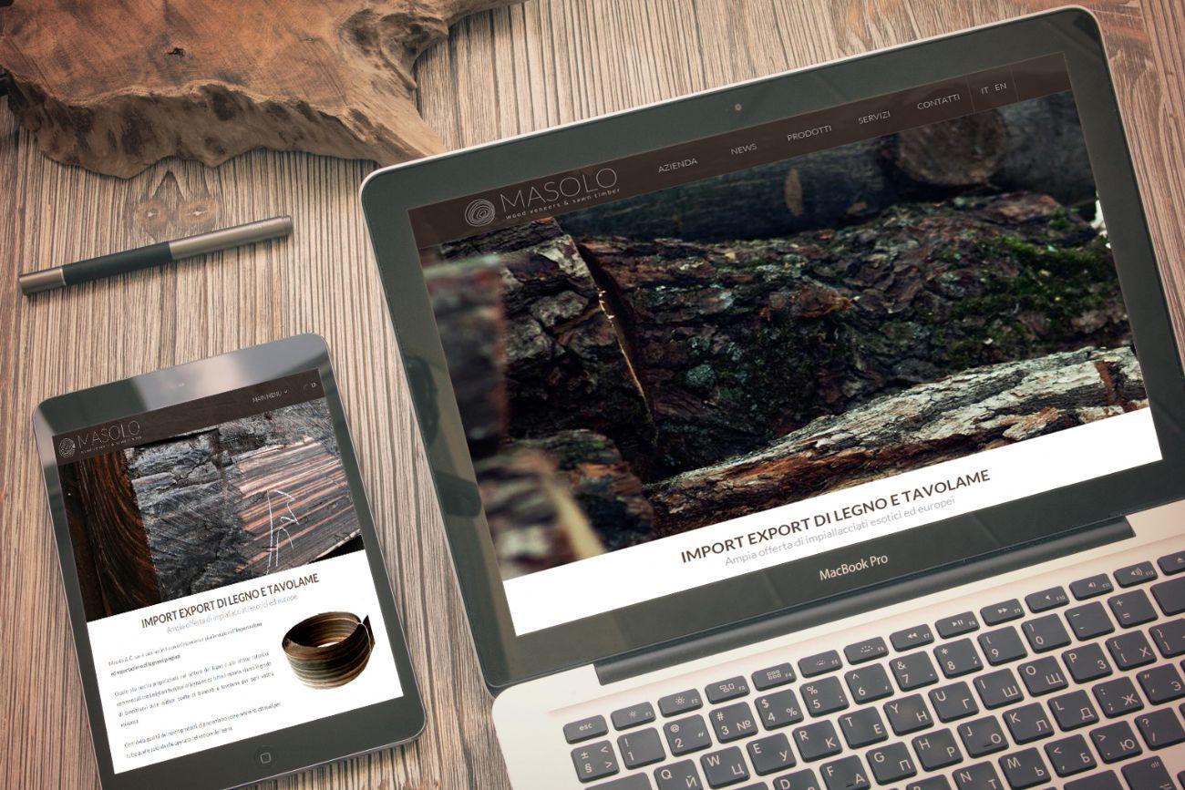 Sito web catalogo online