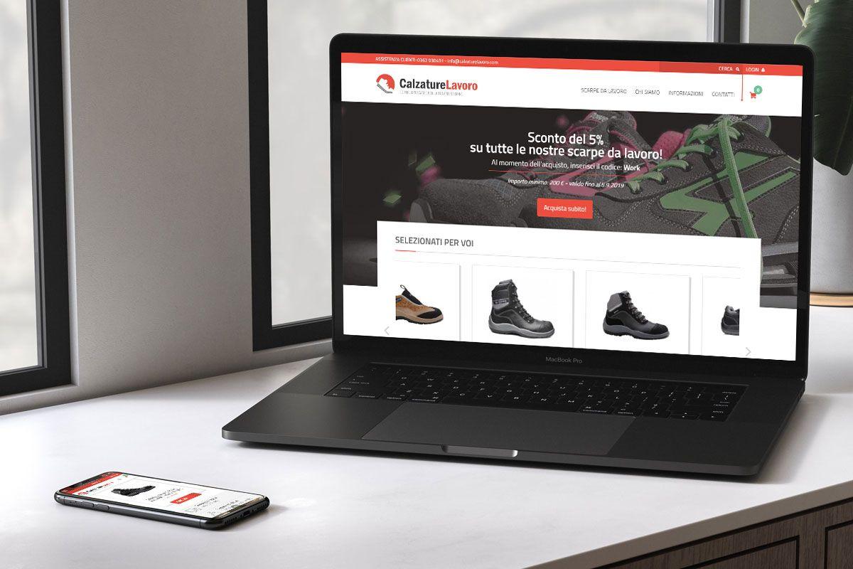 E-commerce scarpe da lavoro