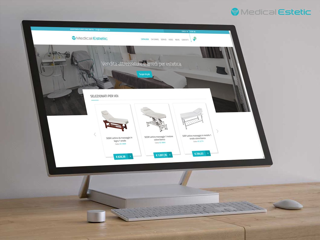 E-commerce apparecchiature estetica