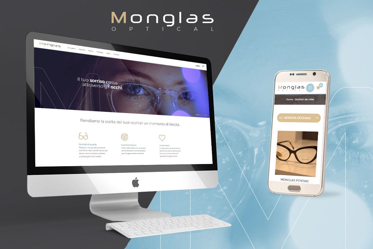 E-commerce vendita occhiali