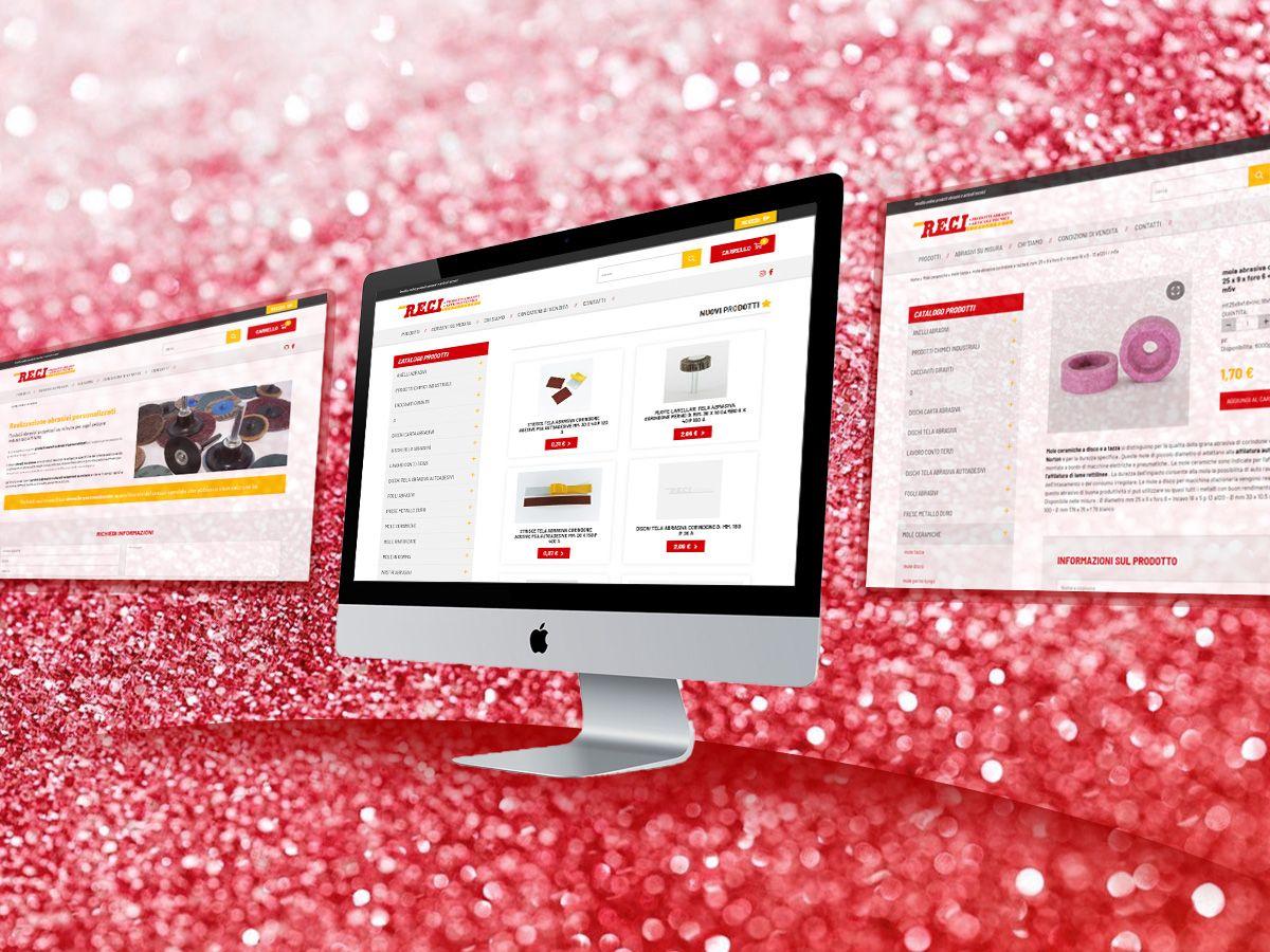 E-commerce prodotti abrasivi