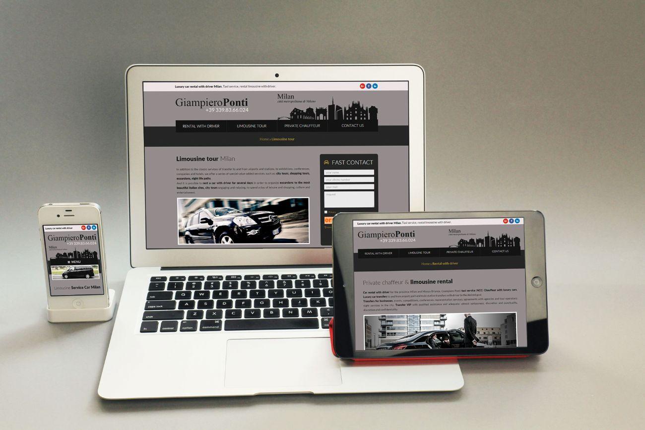 Realizzazione sito web e posizionamento