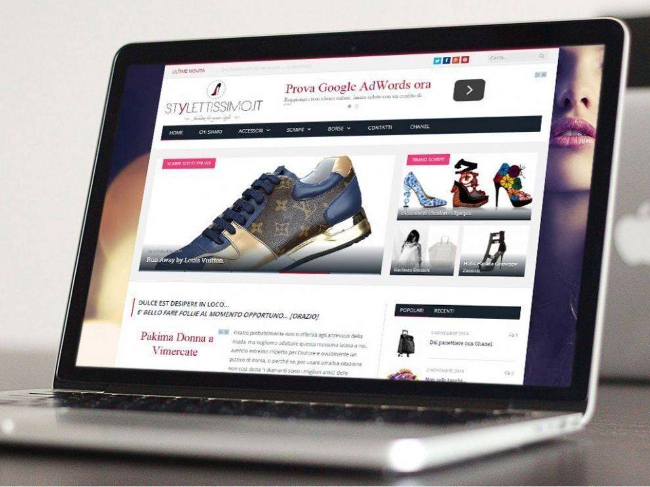 Blog wordpress di moda