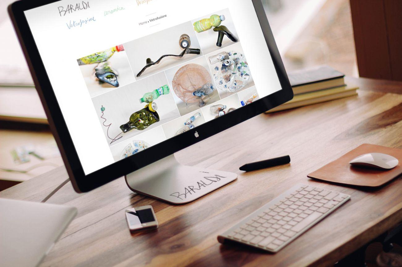 Sito web responsive custom