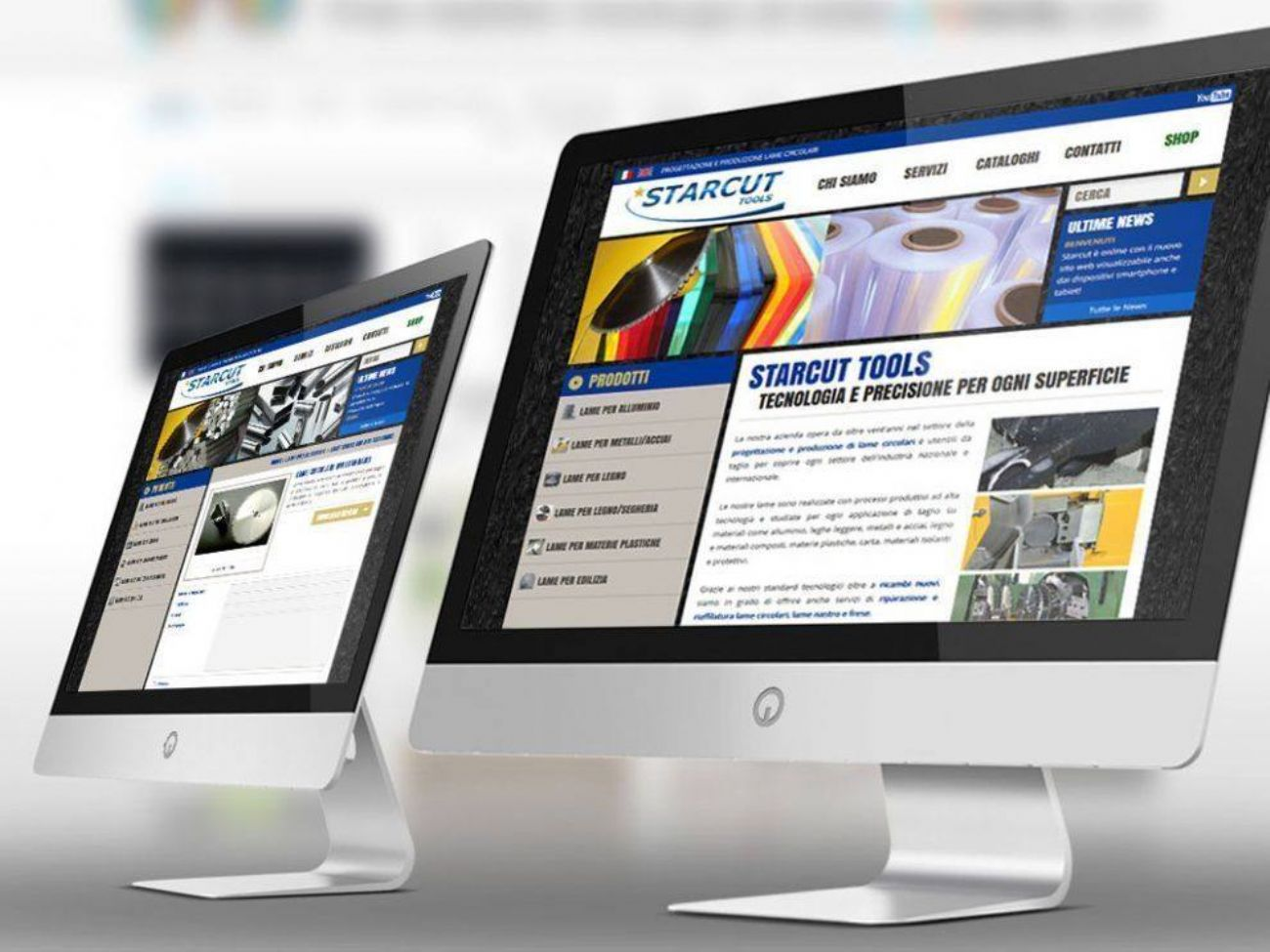 Sviluppo sito web responsive custom
