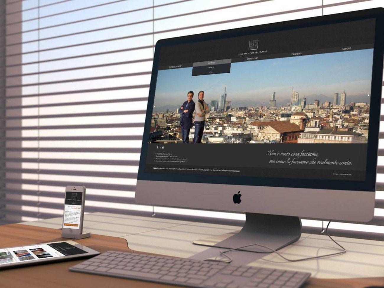 Sito web in responsive design
