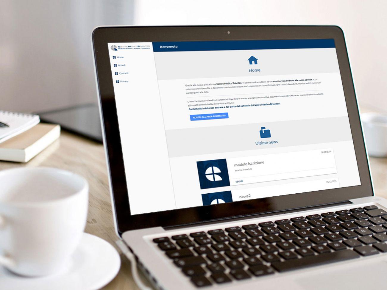 Sito gestione documenti CRM